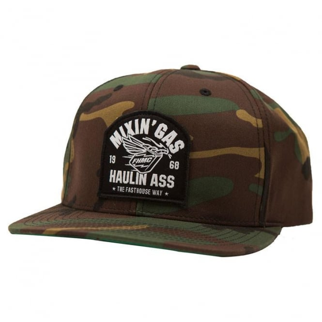 Fasthouse Mixin Gas Cap (Camo) One Size