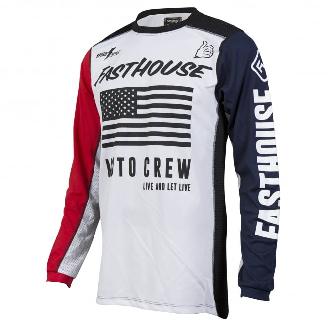 Fasthouse USA Air Cooled Adult Jersey