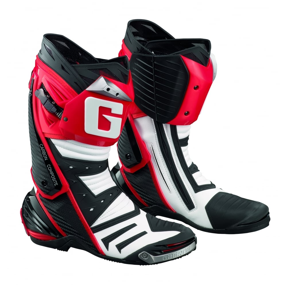 gaerne gp1  Gaerne GP1 Red boot - Motorcycle Boots from Custom Lids UK