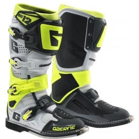 SG12 Boots Grey-Yellow Flou