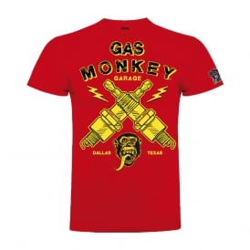 Gas Monkey Lightning Plugs Tee