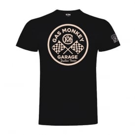 Gas Monkey Round Logo Tee