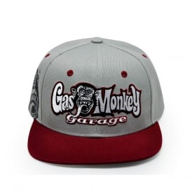 Gas Monkey Snapback Cap RR Hands