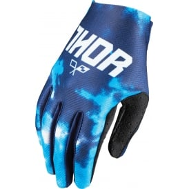 GLOVE Thor Void S17 Youth Tydy Blue