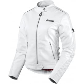 JACKET HELLA LEATHER WHITE