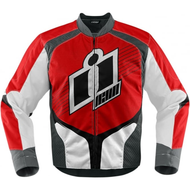 Icon JACKET OVERLORD 2 RED