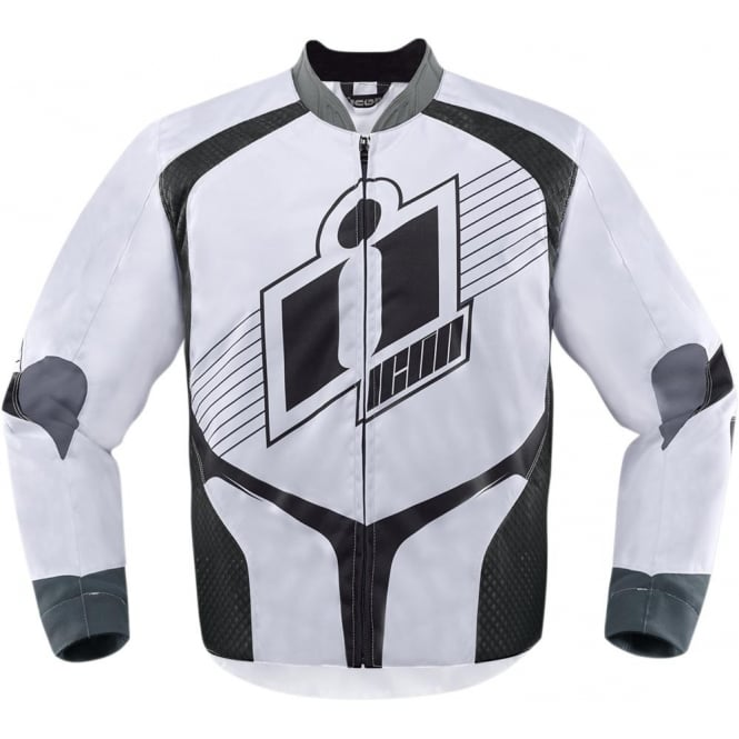 Icon JACKET OVERLORD 2 WHITE