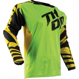JERSEY Thor Fuse S17 Dazz Flo-GN / YW