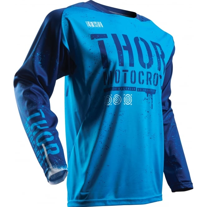 Thor JERSEY Fuse S17 Objective Blue