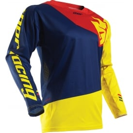 JERSEY Thor Fuse S17 Pinin Navy / Red