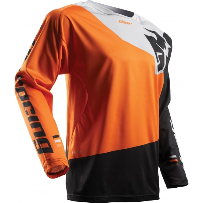 Thor JERSEY FuseS17 Pinin Orange / BK