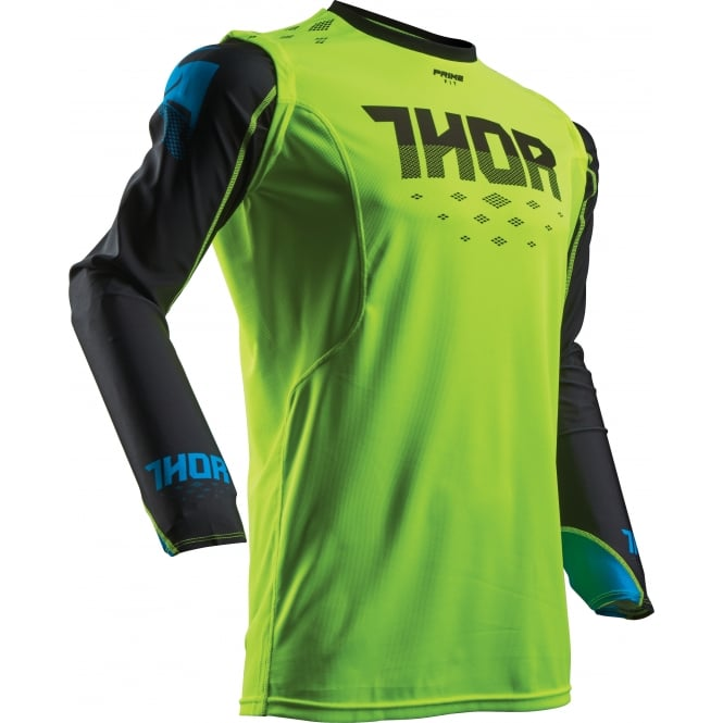 Thor JERSEY Prime-Fit S17 Rohl GN/BK