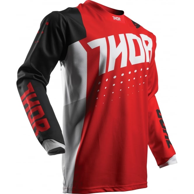 Thor JERSEY Pulse S17 Aktiv Red/Black