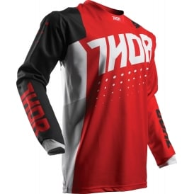 JERSEY Thor Pulse S17 Aktiv Red/Black