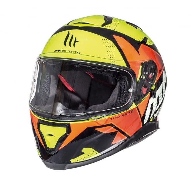 MT Thunder 3 SV Torn Fluo Yellow / Fluo Orange