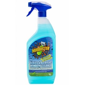 Mudbuster Glass, Acrylic Cleaner 1 Litre