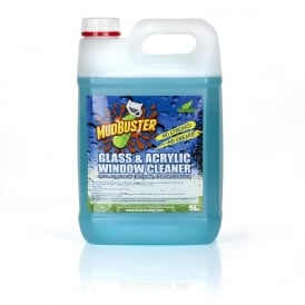 Mudbuster Glass, Acrylic Cleaner 5 Litre