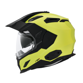 NEXX XD1 Plain Helmet Neon Yellow