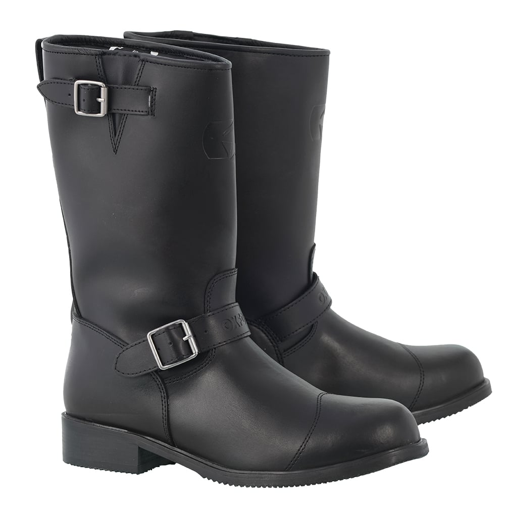 Oxford Cruiser Boots Black Motorcycle Boots From Custom Lids Uk