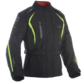 Dakota WS Long Txt Jkt Black/Fluo