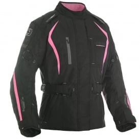 Dakota WS Long Txt Jkt Black/Pink