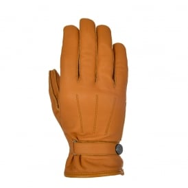 Holton Men's short classic leather Gloves Tan