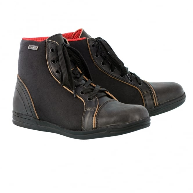 Oxford Jericho MS W/ proof Boots Stealth Black UK