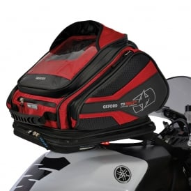 Oxford Q30R QR TANK BAG - Red