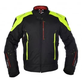 Toledo 1.0 MS Short Jkt Black/Fluo