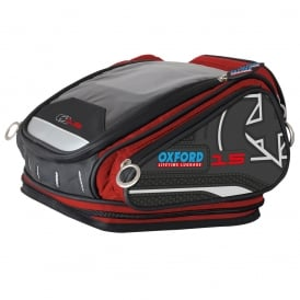 Oxford X15 QR Tank Bag - Red