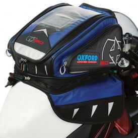 Oxford X30 QR TANK BAG - Blue