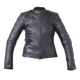 RST KATE LADIES LTHR JKT BLK