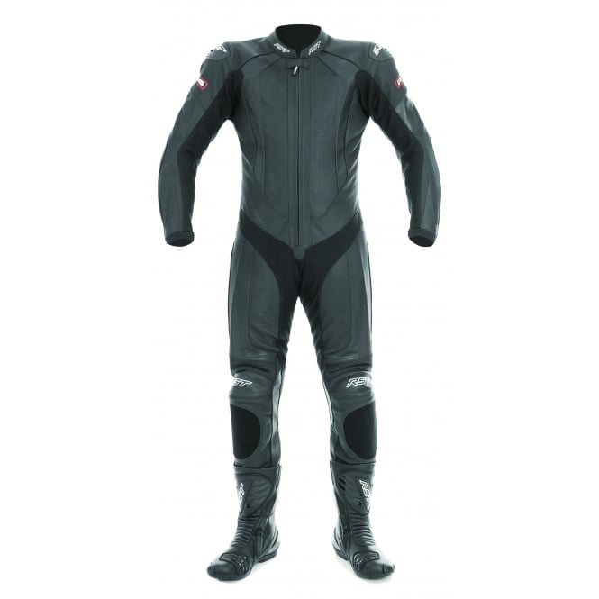 RST R-16 ONE PIECE SUIT BLACK