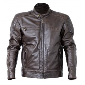 RST Roadster II Leather Jacket Tobacco Brown