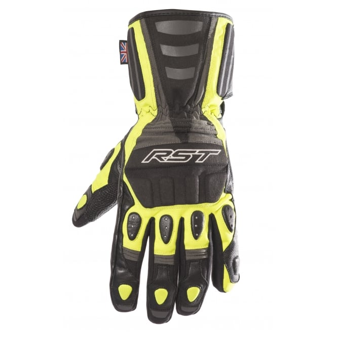 RST STORM WP BLACK / FLO YELLOW