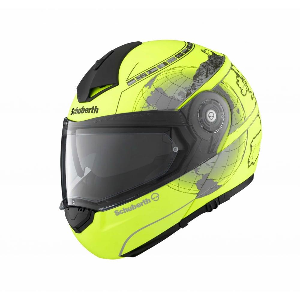 schuberth c3 pro europe matt yellow motorcycle helmets. Black Bedroom Furniture Sets. Home Design Ideas
