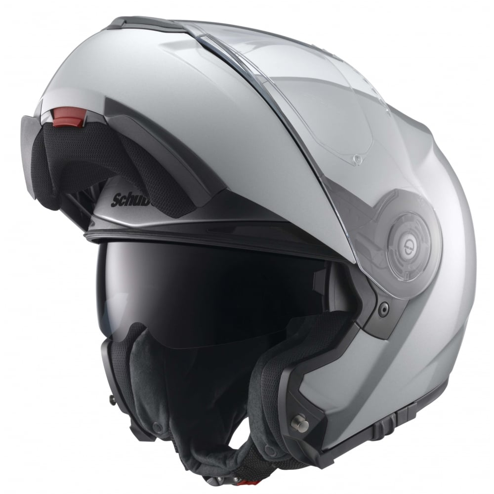 schuberth c3 pro silver motorcycle helmets from custom. Black Bedroom Furniture Sets. Home Design Ideas