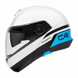C4 PULSE WHITE / BLUE