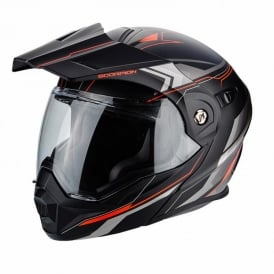 SCORPION ADX-1 ANIMA MATT BLK/RED