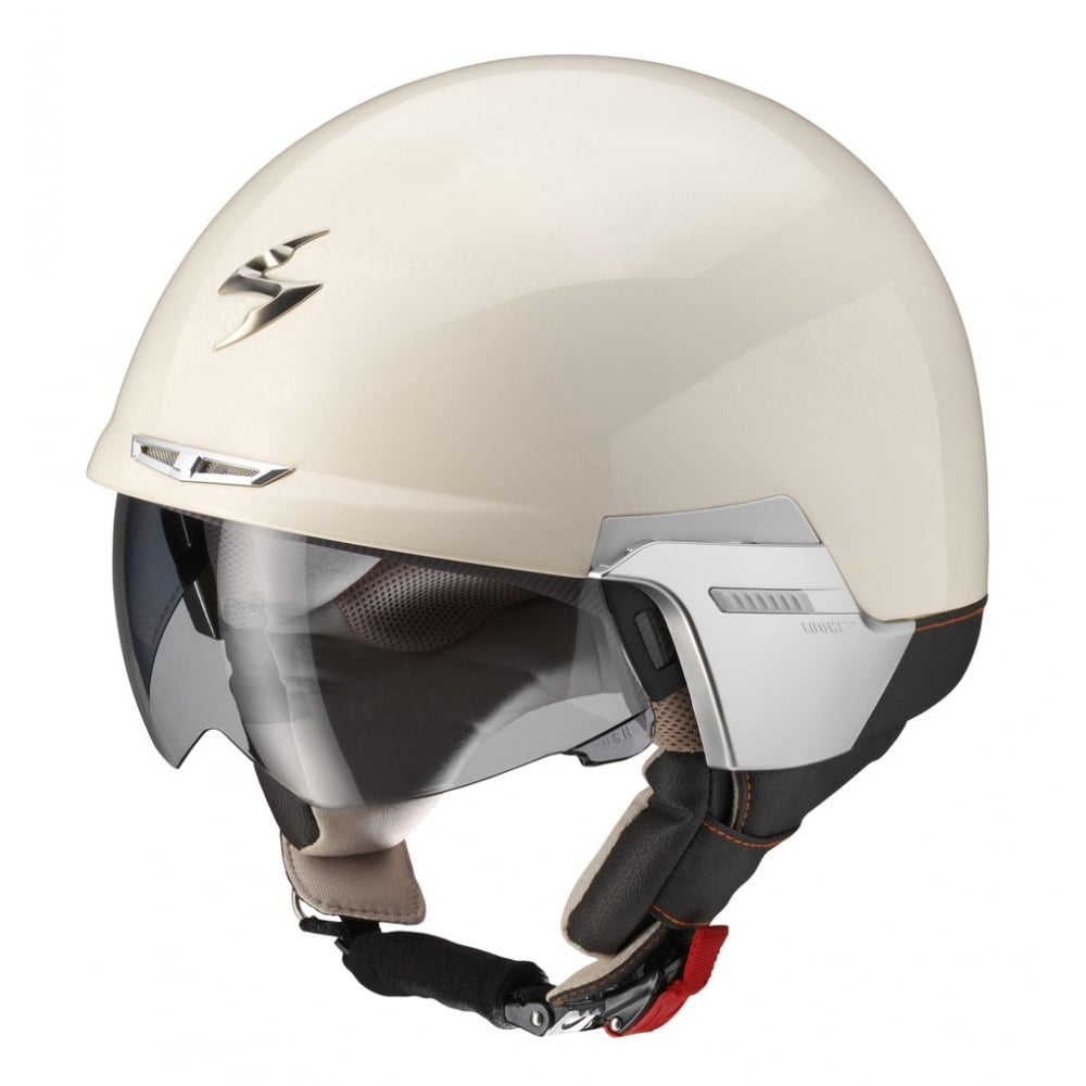 scorpion exo 100 padova cream motorcycle helmets from. Black Bedroom Furniture Sets. Home Design Ideas
