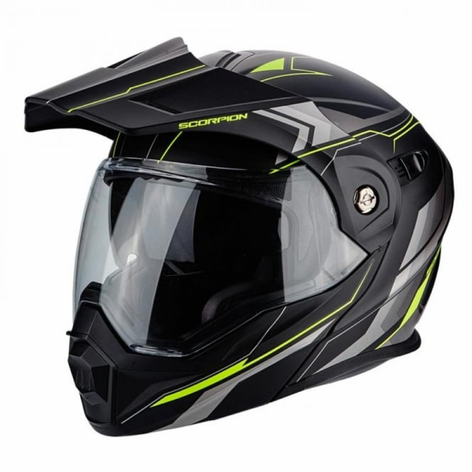 Scorpion Crash Helmets SCORPION ADX-1 ANIMA YELLOW