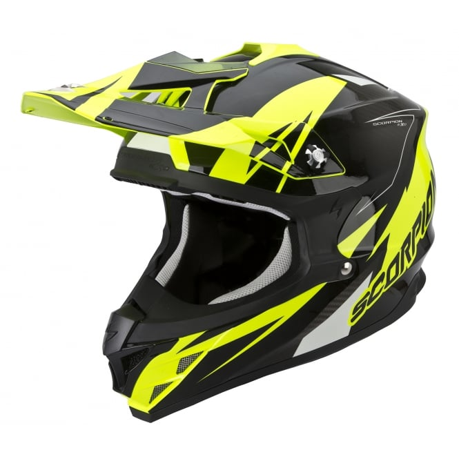 Scorpion Crash Helmets VX-15 KRUSH YELLOW/BLACK