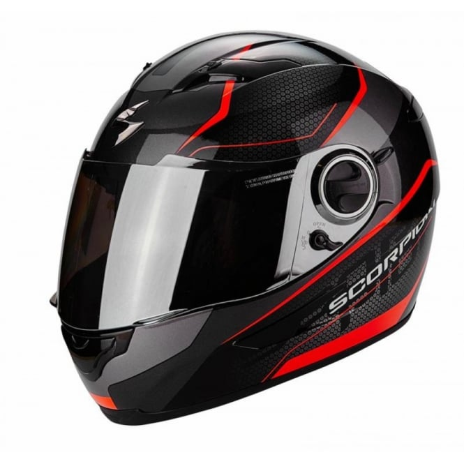 Scorpion EXO 490 VISION BLACK/RED