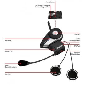 Sena 20s Dual Headset and Bluetooth