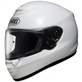 Shoei Qwest Plain White