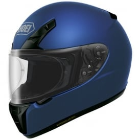 Shoei RYD Plain Matt Blue Metallic