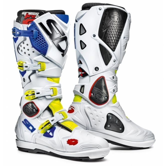 Sidi Crossfire 2 SRS Yellow Fluo White/Blue