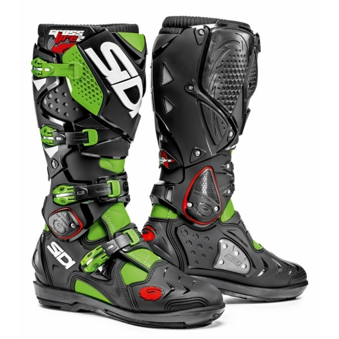 Sidi Motorcycle Boots Sidi Crossfire 2 Green Fluo/Black