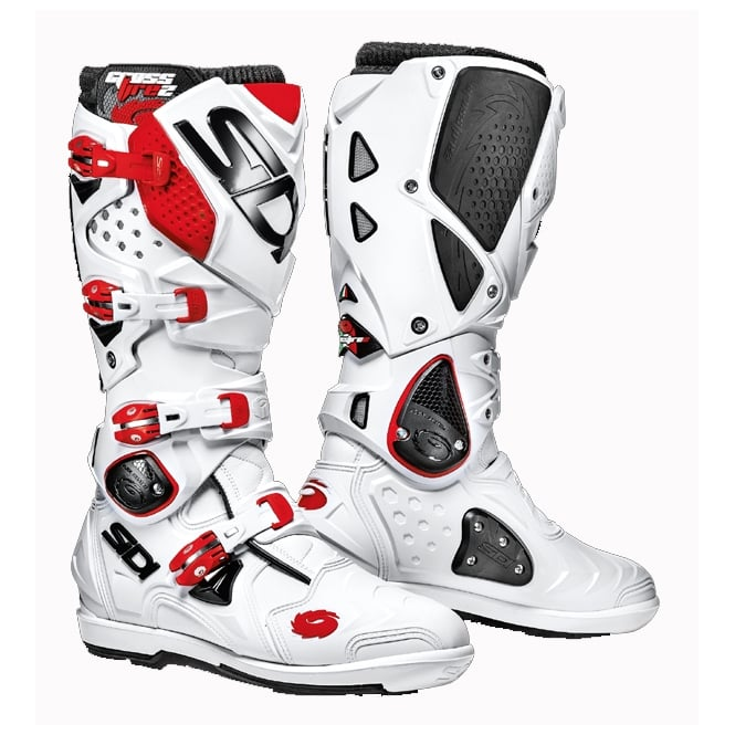 Sidi Motorcycle Boots Sidi Crossfire 2 SRS White/Red