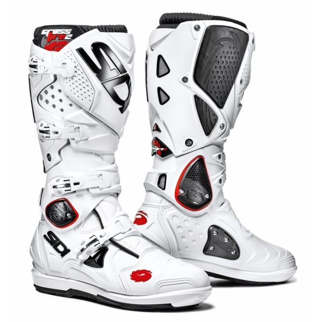 Sidi Motorcycle Boots Sidi Crossfire 2 SRS White/White